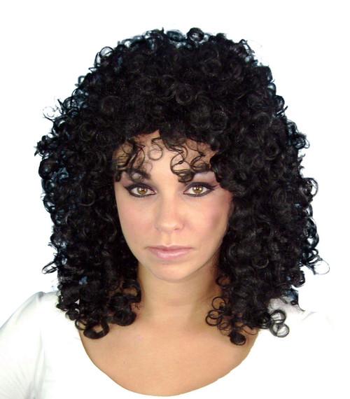 Black Glamour Ringlets Wig