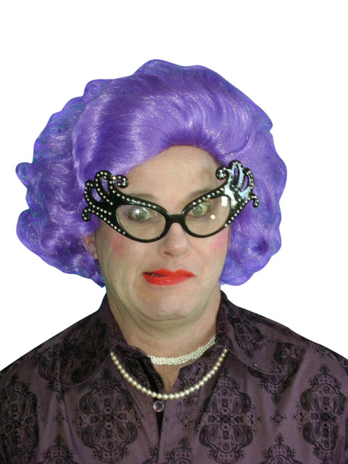 Edna Purple Wig