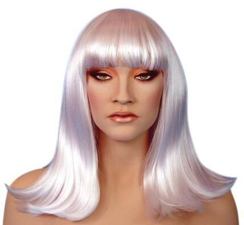 Cleo White Wig