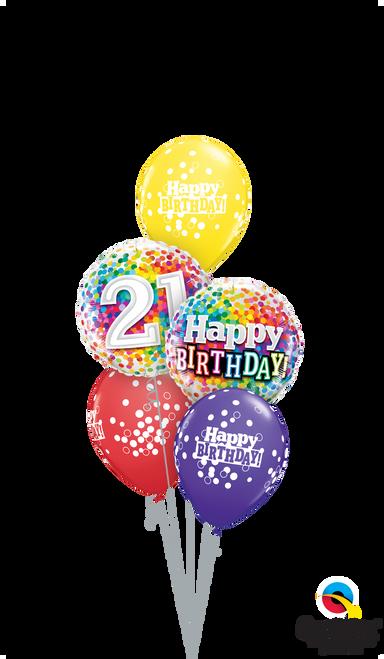 Bright Birthday Wishes - Age Birthday Arrangement