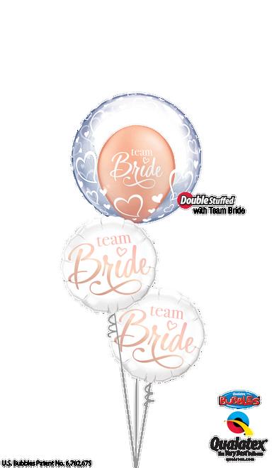 All for the Bride - Love Balloon Arrangement