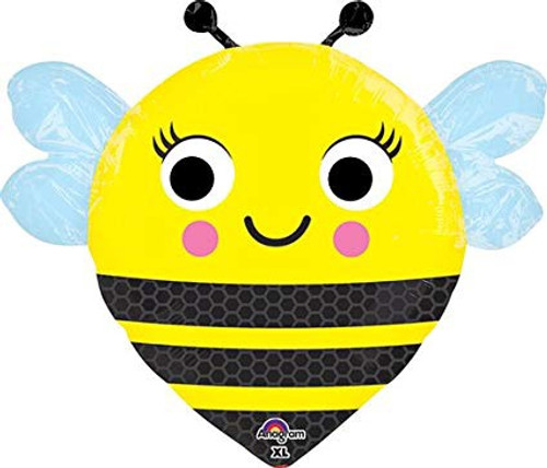 Happy Buzz'n Bee Jnr Shape Foil Balloon