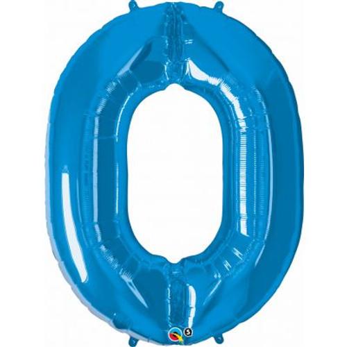 Number 0 Megaloon - Blue