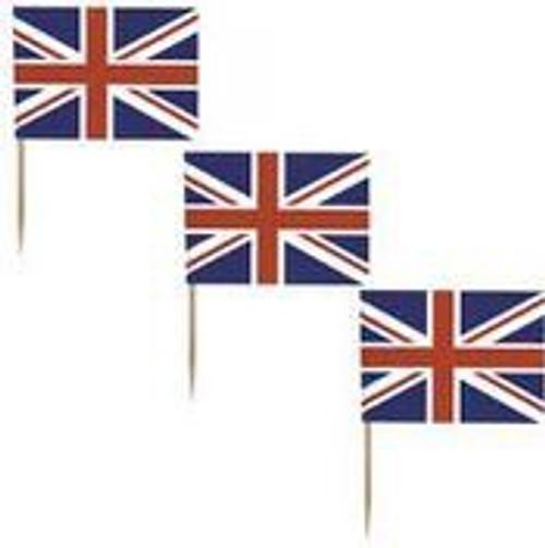 20 UK English Flag Union Jack Picks