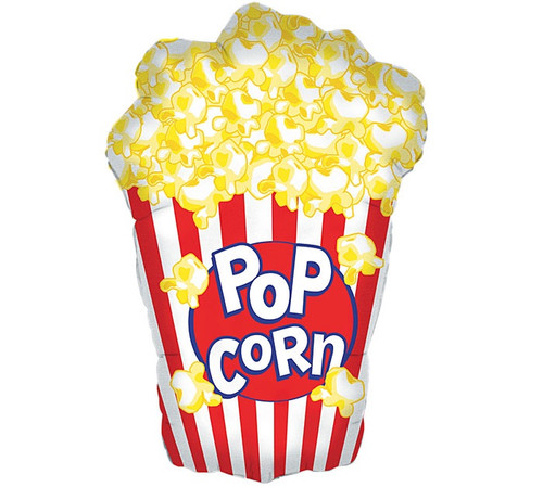 Popcorn Supershape Foil Balloon