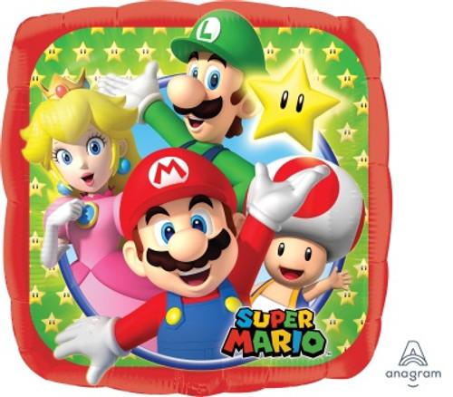 Super Mario Bros Foil Balloon