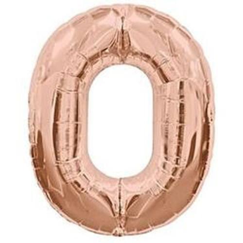 Number 0 Megaloon - Rose Gold