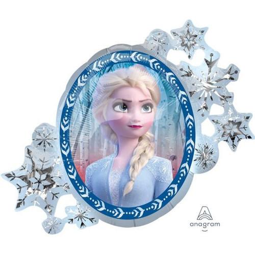 Anagram Foil Licensed Shape Frozen 2