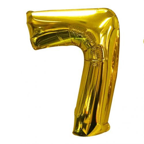 Number 7 Megaloon - Gold HHY