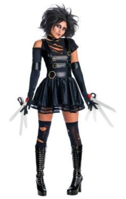 Miss Edward Scissorhands Costume - Large
