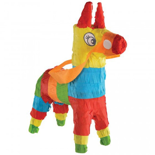 Fiesta Mini Donkey Pinata Decoration