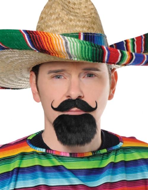 Fiesta Facial Hair Set