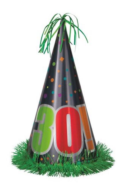 Birthday Cheer Jumbo Party Hat - 30