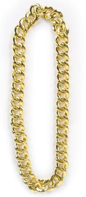 Neck Chain Gold Look Chunky