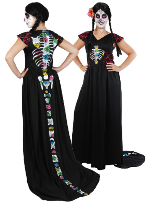 Day of the Dead Dress - S