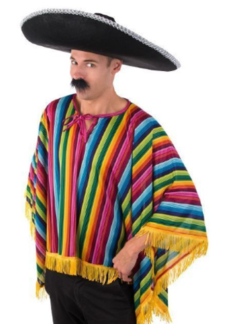 Mexican Poncho Bright