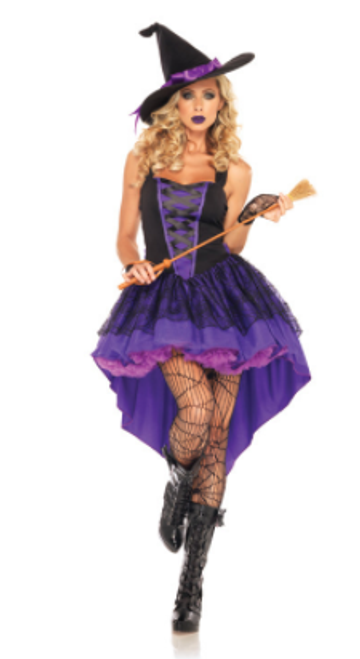 Broomstick Babe Costume S/M