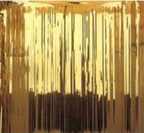 Foil Door Curtain Gold