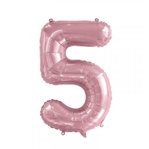Number 5 Megaloon - Light Pink