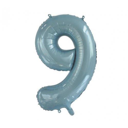 Number 9 Megaloon - Light Blue