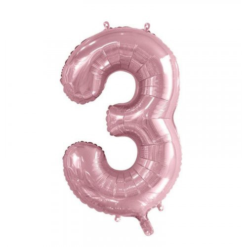 Number 3 Megaloon - Light Pink