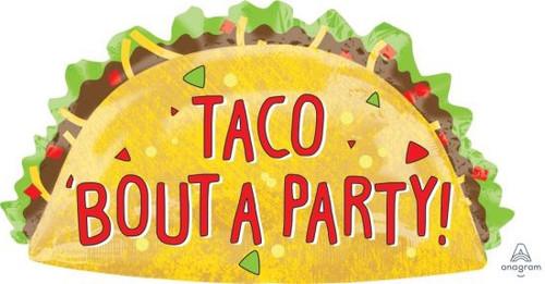 Taco Party Foil SuperShape