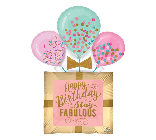 Fabulous Birthday Gift Supershape Foil Balloon