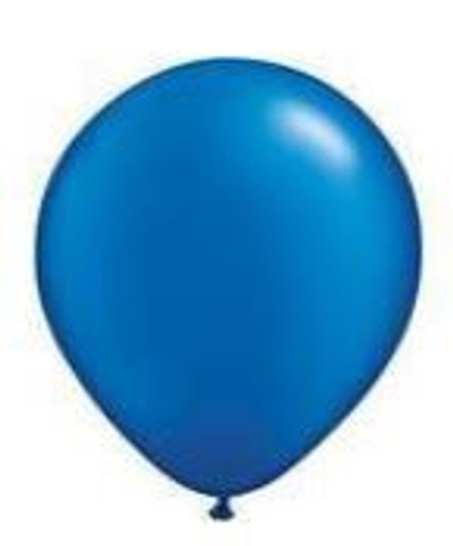 Pearl Sapphire Blue 28cm Balloons - Pack of 100