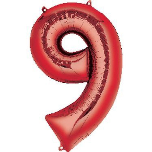 Number 9 Megaloon - Red