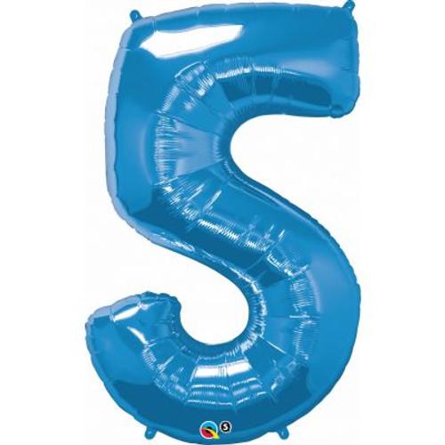 Number 5 Megaloon - Blue
