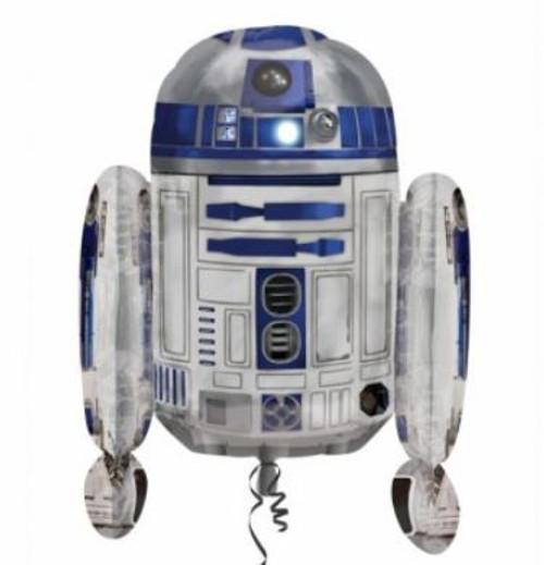Star Wars R2D2 Supershape Foil Balloon