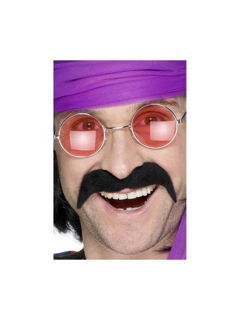 Moustache - 70's Tash Black