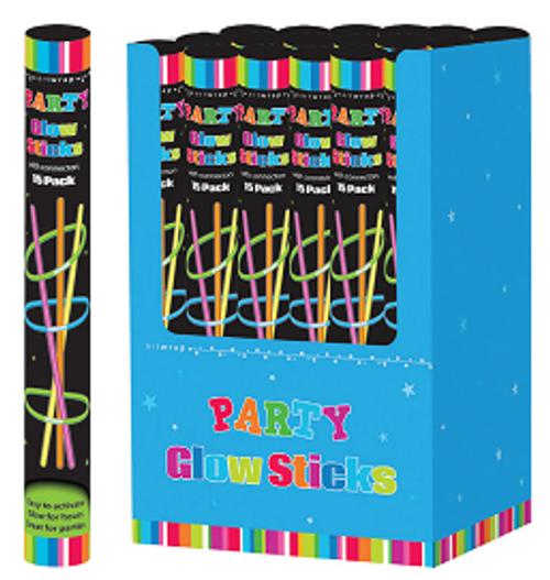 Glow Sticks - 15 Pieces