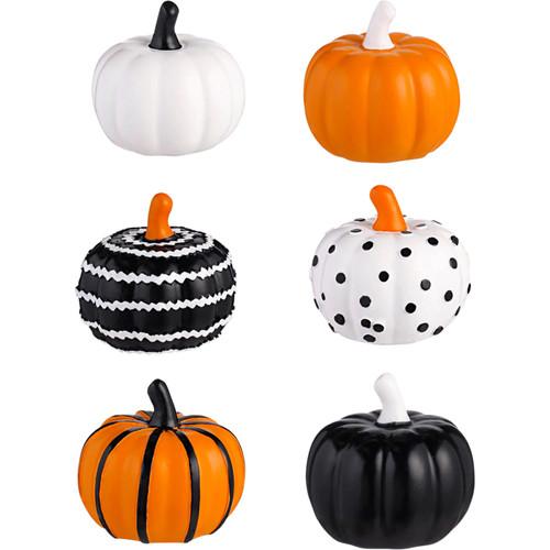 Ceramic Mini Pumpkin Figurines