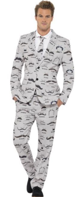 Stand Out Suit - Moustache - L