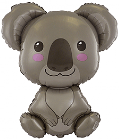 Koala Foil Supershape Balloon