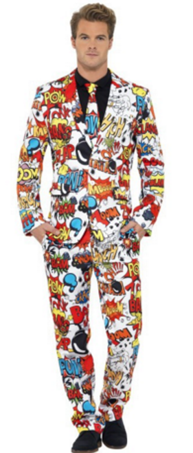 Stand Out Suit - Comic Strip - XL