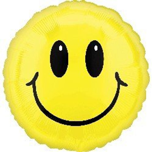 Smiley Face Foil Balloon