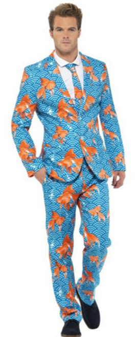 Stand Out Suit - Goldfish - M