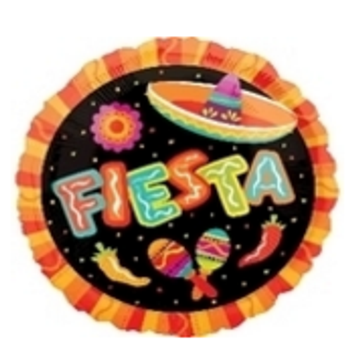 Fiesta More Fun Foil Balloon