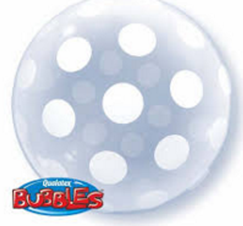 Big Polka Dots All Around Deco Bubble
