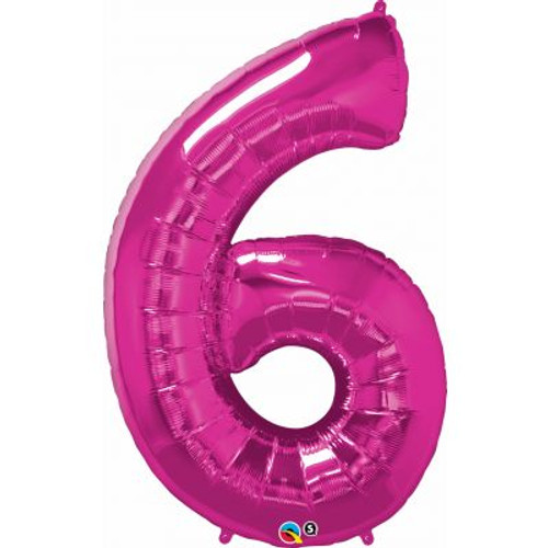 Number 6 Megaloon - Pink