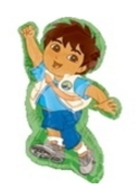 Go Diego Go Character SuperShape Foil Balloon