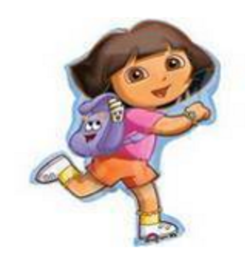 Dora Exploring Supershape Foil Balloon