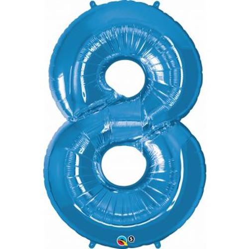 Number 8 Megaloon - Blue