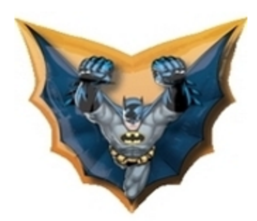 Batman Cape Shape SuperShape Foil Balloon