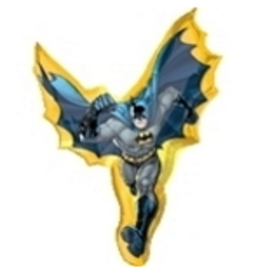 Batman Action Shape SuperShape Foil Balloon