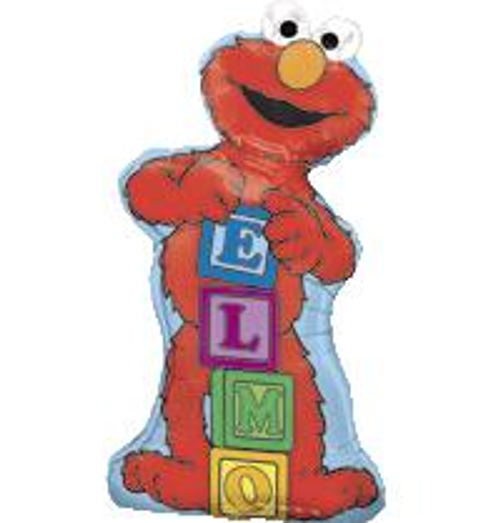 Sesame Street Elmo Supershape Balloon