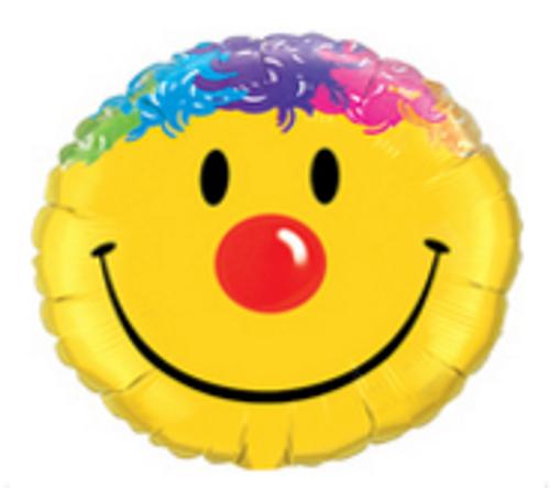 Smile Face 36 inch (90cm) Foil Balloon