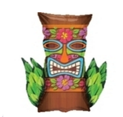 Tiki Time SuperShape Foil Balloon